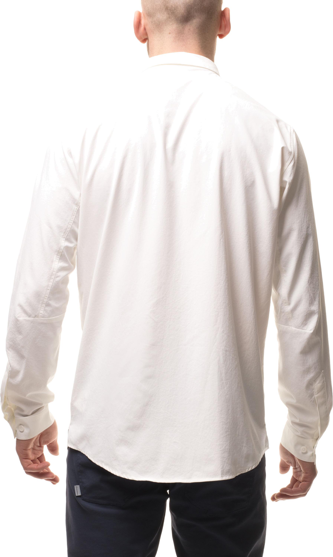 Houdini M s Longsleve Shirt powderday white - addnature.com 9b7a35dfaf092